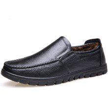 MUHUISEN Male Warmest Business Simple Oxford