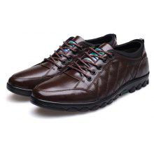 MUHUISEN Male Lustrous Soft Casual Oxford