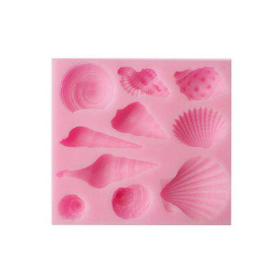 Lovely Sea Shell Cake Chocolate Mold Silicone Bakery Tool