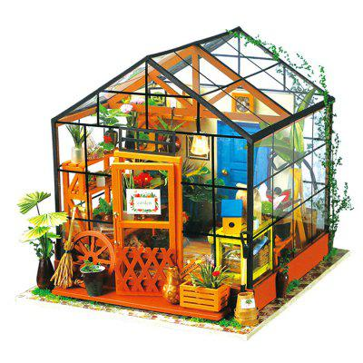 Creative DIY 3D Wooden Building Model Set Jigsaw Puzzle