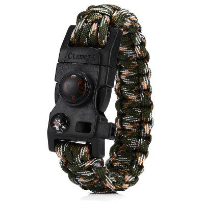 CTSmart Multifunctional Emergency Survival Bracelet