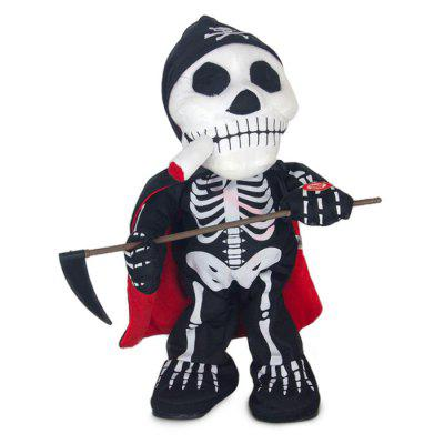 Skull Sickle Haunted Stuffed Toy