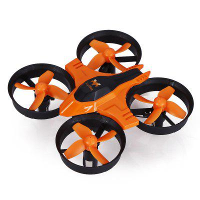 FuriBee F36 Mini RC Drone - RTFRC Quadcopters<br>FuriBee F36 Mini RC Drone - RTF<br><br>Battery: 3.7V 150mAh lithium-ion<br>Brand: FuriBee<br>Built-in Gyro: 6 Axis Gyro<br>Channel: 4-Channels<br>Charging Time.: 30 - 50 minutes<br>Compatible with Additional Gimbal: No<br>Detailed Control Distance: 30m<br>Features: Radio Control<br>Flying Time: 5~6mins<br>Functions: With light, Up/down, Turn left/right, Speed up, Sideward flight, Headless Mode, 3D rollover, One Key Automatic Return<br>Kit Types: RTF<br>Level: Beginner Level<br>Model: F36<br>Model Power: Rechargeable Battery<br>Motor Type: Brushed Motor<br>Package Contents: 1 x RC Quadcopter ( Battery Included ), 1 x Transmitter, 1 x Spare Battery, 4 x Propeller, 1 x USB Cable, 1 x Screwdriver, 1 x English User Manual<br>Package size (L x W x H): 14.00 x 9.00 x 11.00 cm / 5.51 x 3.54 x 4.33 inches<br>Package weight: 0.1980 kg<br>Product size (L x W x H): 9.50 x 9.50 x 5.00 cm / 3.74 x 3.74 x 1.97 inches<br>Product weight: 0.0220 kg<br>Radio Mode: Mode 2 (Left-hand Throttle)<br>Remote Control: 2.4GHz Wireless Remote Control<br>Size: Mini<br>Transmitter Power: 3 x AAA battery(not included)<br>Type: Indoor, Outdoor, Quadcopter, Toy<br>Wheelbase: 70mm