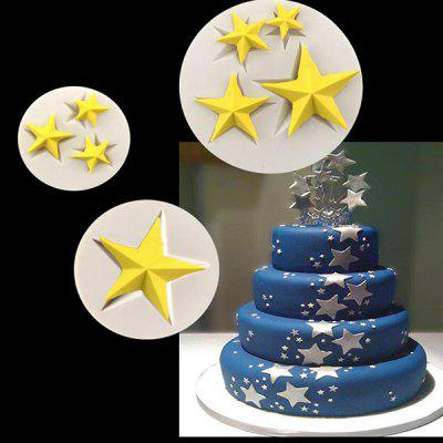 MCYH Star Style Silicone Cake Chocolate Molds 1PC