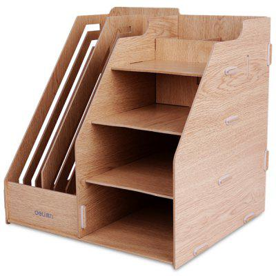 Deli 9842 Multifunctional DIY Magazine File Holder Organizer