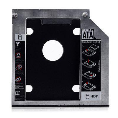 9.5mm SATA 2nd SSD HDD Hard Drive Caddy