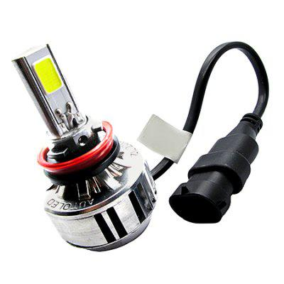 Autodragons Three Sides COB Chip H8 Car LED Headlight 2PCSCar Lights<br>Autodragons Three Sides COB Chip H8 Car LED Headlight 2PCS<br><br>Apply lamp position: External Lights<br>Apply To Car Brand: Universal<br>Brand: autodragons<br>Connector: H8<br>LED Type: COB<br>Lumens: 3300LM / bulb, 6600LM / set<br>Package Contents: 2 x Car LED Headlight, 1 x English Manual<br>Package size (L x W x H): 16.00 x 12.50 x 7.50 cm / 6.3 x 4.92 x 2.95 inches<br>Package weight: 0.4000 kg<br>Product size (L x W x H): 4.50 x 1.50 x 7.85 cm / 1.77 x 0.59 x 3.09 inches<br>Product weight: 0.3500 kg<br>Type: Headlights<br>Type of lamp-house: COB