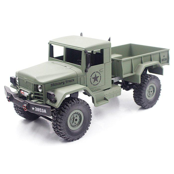HENG LONG 3853A 1:16 Mini Off-road RC Military Truck RTF
