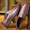 MUHUISEN Male Warmest Business Simple Oxford - BROWN