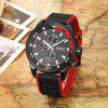 CURREN 8250 Casual Men Quartz Watch - RED