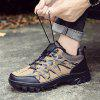 Male Versatile Hiking Warmth Camouflage Athletic Shoes - BROWN