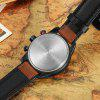 CURREN 8250 Casual Men Quartz Watch - BROWN