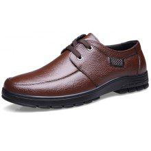 MUHUISEN Male Business Classic Casual Oxford Shoes