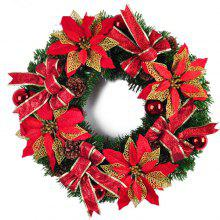MCYH YH650 50CM Red Christmas Decoration Wreath