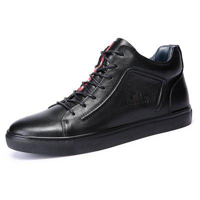 Men Warmest Soft Ankle-top Casual Skateboarding ShoesCasual Shoes<br>Men Warmest Soft Ankle-top Casual Skateboarding Shoes<br><br>Closure Type: Lace-Up<br>Features: Anti-slip, Breathable, Durable, Water Resistant<br>Gender: Men<br>Highlights: Breathable, Soft, Warm Keeping<br>Package Contents: 1 x Pair of Shoes, 1 x Box, 1 x Dustproof Paper<br>Package size: 33.00 x 22.00 x 11.00 cm / 12.99 x 8.66 x 4.33 inches<br>Package weight: 0.8500 kg<br>Product weight: 0.7000 kg<br>Season: Autumn, Winter<br>Sole Material: Rubber<br>Type: Skateboarding Shoes<br>Upper Height: Middle