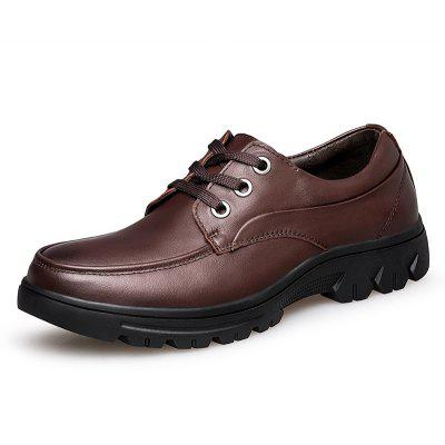 Male Classic Business Plus-size Casual Dress ShoesFormal Shoes<br>Male Classic Business Plus-size Casual Dress Shoes<br><br>Closure Type: Lace-Up<br>Contents: 1 x Pair of Shoes, 1 x Box, 1 x Dustproof Paper<br>Function: Slip Resistant<br>Materials: Rubber, Leather<br>Occasion: Tea Party, Shopping, Office, Holiday, Formal, Party, Casual, Daily, Dress<br>Outsole Material: Rubber<br>Package Size ( L x W x H ): 33.00 x 22.00 x 11.00 cm / 12.99 x 8.66 x 4.33 inches<br>Package weight: 1.0500 kg<br>Pattern Type: Solid<br>Product weight: 0.9000 kg<br>Seasons: Autumn,Spring,Winter<br>Style: Modern, Leisure, Formal, Fashion, Comfortable, Casual, Business<br>Toe Shape: Round Toe<br>Type: Casual Leather Shoes<br>Upper Material: Leather