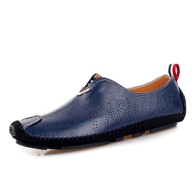 Male Ultralight Thin Stitching Casual Flat LoaferFlats &amp; Loafers<br>Male Ultralight Thin Stitching Casual Flat Loafer<br><br>Closure Type: Slip-On<br>Contents: 1 x Pair of Shoes, 1 x Box, 1 x Dustproof Paper<br>Function: Slip Resistant<br>Lining Material: Pigskin<br>Materials: Leather, Pigskin, Rubber<br>Occasion: Tea Party, Shopping, Party, Office, Holiday, Casual, Daily<br>Outsole Material: Rubber<br>Package Size ( L x W x H ): 33.00 x 22.00 x 11.00 cm / 12.99 x 8.66 x 4.33 inches<br>Package weight: 0.8500 kg<br>Pattern Type: Solid<br>Product weight: 0.7000 kg<br>Seasons: Autumn,Spring<br>Style: Modern, Leisure, Fashion, Comfortable, Casual<br>Toe Shape: Round Toe<br>Type: Flat Shoes<br>Upper Material: Leather