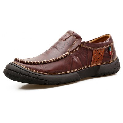 Male Retro Classic Embossing Grained Casual OxfordMen's Oxford<br>Male Retro Classic Embossing Grained Casual Oxford<br><br>Closure Type: Slip-On<br>Contents: 1 x Pair of Shoes, 1 x Box, 1 x Dustproof Paper<br>Function: Slip Resistant<br>Materials: Rubber, Leather<br>Occasion: Tea Party, Shopping, Office, Holiday, Formal, Party, Casual, Daily, Dress<br>Outsole Material: Rubber<br>Package Size ( L x W x H ): 33.00 x 22.00 x 11.00 cm / 12.99 x 8.66 x 4.33 inches<br>Package weight: 0.9500 kg<br>Pattern Type: Solid<br>Product weight: 0.8000 kg<br>Seasons: Autumn,Spring<br>Style: Modern, Leisure, Formal, Fashion, Comfortable, Casual, Business<br>Toe Shape: Round Toe<br>Type: Casual Leather Shoes<br>Upper Material: Leather