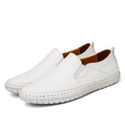 Male Simple Lightweight Driving Flat Loafer