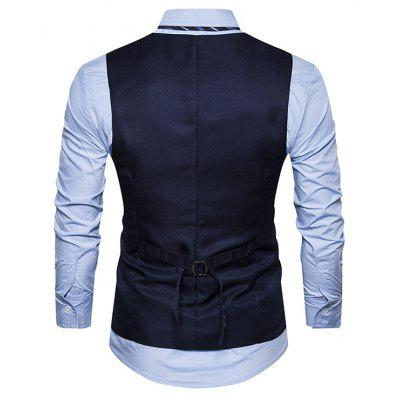 Male Turndown Collar Single Breasted Embroidery WaistcoatWaistcoats<br>Male Turndown Collar Single Breasted Embroidery Waistcoat<br><br>Package Contents: 1 x Waistcoat<br>Package size: 30.00 x 40.00 x 1.00 cm / 11.81 x 15.75 x 0.39 inches<br>Package weight: 0.2600 kg<br>Product weight: 0.2400 kg