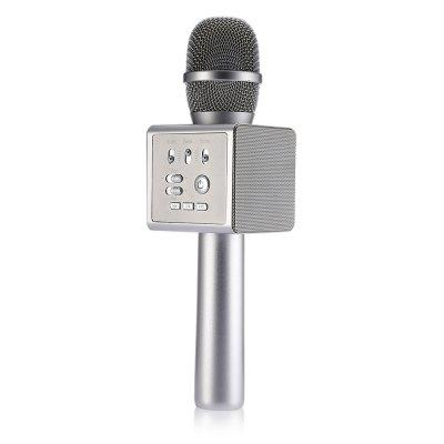 MICGEEK I6 Bluetooth Karaoke Microphone Music PlayerMicrophone<br>MICGEEK I6 Bluetooth Karaoke Microphone Music Player<br><br>Bluetooth: Support<br>Brand: MICGEEK<br>Cable Length (cm): No<br>Connection: Bluetooth<br>Microphone Type: Microphone<br>Occasion: Singing, Karaoke, Desktop, Computer, Broadcast<br>Package Contents: 1 x I6 Bluetooth Karaoke Microphone, 1 x USB Cable, 1 x Audio Cable, 1 x English Manual<br>Package size (L x W x H): 30.00 x 12.50 x 8.60 cm / 11.81 x 4.92 x 3.39 inches<br>Package weight: 0.6800 kg<br>Product size (L x W x H): 27.00 x 7.60 x 7.60 cm / 10.63 x 2.99 x 2.99 inches<br>Product weight: 0.4600 kg<br>Type: Wireless