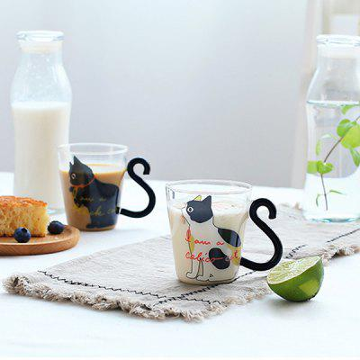 220ml Cat Glass Mug Coffee Cup with English Words for HomeCoffee &amp; Tea Tools<br>220ml Cat Glass Mug Coffee Cup with English Words for Home<br><br>Material: Glass<br>Package Contents: 1 x Glass Mug<br>Package size (L x W x H): 9.00 x 11.00 x 10.00 cm / 3.54 x 4.33 x 3.94 inches<br>Package weight: 0.1500 kg<br>Product size (L x W x H): 8.00 x 10.00 x 9.00 cm / 3.15 x 3.94 x 3.54 inches<br>Product weight: 0.1000 kg<br>Style: Animal<br>Suitable for: Home<br>Type: Milk, Tea, Coffee