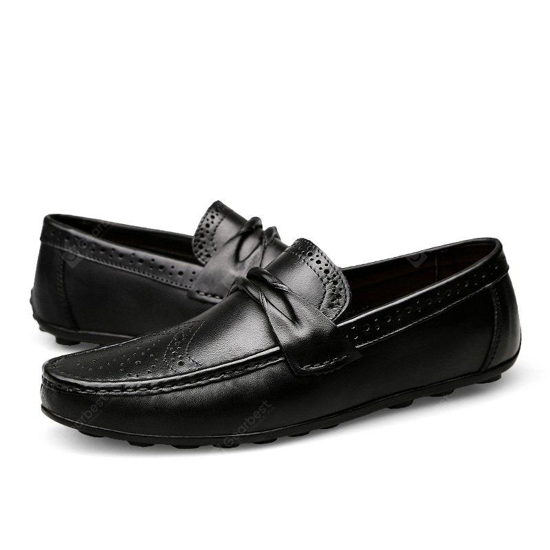 Male Stylish Soft Flat Hollow Carved Driving Oxford Shoes latest cheap sale finishline visa payment online cheap real authentic isIXR2PR