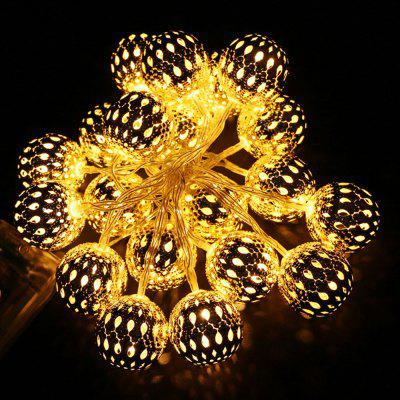 Creative 20-LED Decorative Christmas Ball Style String Lights