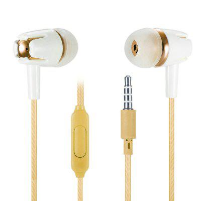 E05 In-ear Earphone with Microphone for 3.5mm Interface
