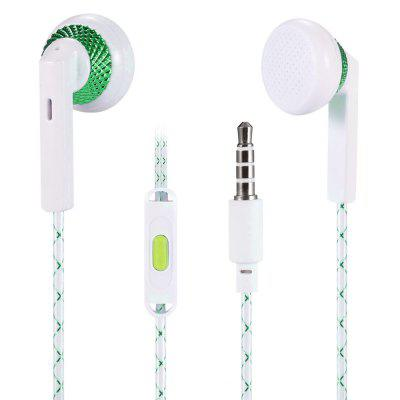 E04 In-ear Earphone with Microphone for 3.5mm Interface