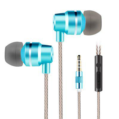 X100 In-ear Earphones with Microphone and Button Control