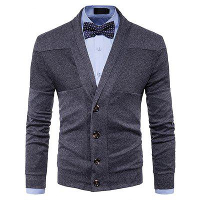 Comfortable Solid Color Long Sleeve Cardigan