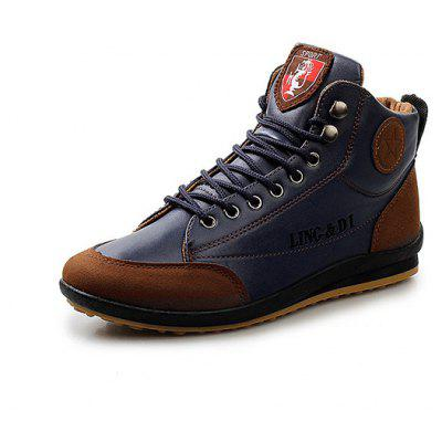 Men Stylish Warmest Soft Ankle Casual Leather ShoesCasual Shoes<br>Men Stylish Warmest Soft Ankle Casual Leather Shoes<br><br>Closure Type: Lace-Up<br>Contents: 1 x Pair of Shoes<br>Function: Slip Resistant<br>Lining Material: Leather<br>Materials: Leather, PU, Rubber<br>Occasion: Tea Party, Shopping, Party, Outdoor Clothing, Office, Casual, Daily, Holiday<br>Outsole Material: Rubber<br>Package Size ( L x W x H ): 25.00 x 6.00 x 5.00 cm / 9.84 x 2.36 x 1.97 inches<br>Package weight: 1.0200 kg<br>Product weight: 1.0000 kg<br>Seasons: Autumn,Spring,Winter<br>Style: Modern, Leisure, Fashion, Comfortable, Casual<br>Toe Shape: Round Toe<br>Type: Casual Leather Shoes<br>Upper Material: PU