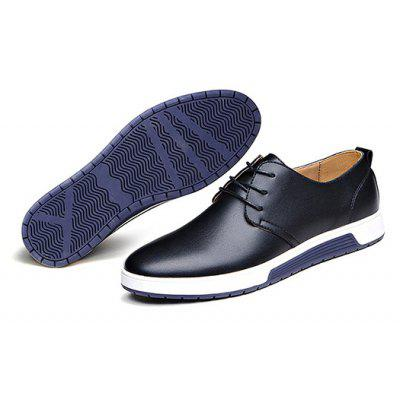 Male British Business Driving Casual Leather ShoesCasual Shoes<br>Male British Business Driving Casual Leather Shoes<br><br>Closure Type: Lace-Up<br>Contents: 1 x Pair of Shoes, 1 x Box<br>Function: Slip Resistant<br>Materials: Rubber, Leather<br>Occasion: Tea Party, Shopping, Office, Holiday, Formal, Party, Casual, Daily, Dress<br>Outsole Material: Rubber<br>Package Size ( L x W x H ): 25.00 x 6.00 x 5.00 cm / 9.84 x 2.36 x 1.97 inches<br>Package weight: 1.0200 kg<br>Pattern Type: Solid<br>Product weight: 1.0000 kg<br>Seasons: Autumn,Spring<br>Style: Modern, Leisure, Formal, Fashion, Comfortable, Casual, Business<br>Toe Shape: Round Toe<br>Type: Casual Leather Shoes<br>Upper Material: Leather