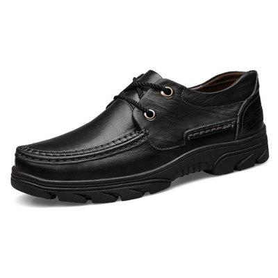 Men\s Business Stitching Soft Plus-size Dress ShoesFormal Shoes<br>Men\s Business Stitching Soft Plus-size Dress Shoes<br><br>Closure Type: Lace-Up<br>Contents: 1 x Pair of Shoes, 1 x Box, 1 x Dustproof Paper<br>Function: Slip Resistant<br>Materials: Rubber, Leather<br>Occasion: Tea Party, Shopping, Office, Holiday, Formal, Party, Casual, Daily, Dress<br>Outsole Material: Rubber<br>Package Size ( L x W x H ): 33.00 x 22.00 x 11.00 cm / 12.99 x 8.66 x 4.33 inches<br>Package weight: 1.1500 kg<br>Pattern Type: Solid<br>Product weight: 1.0000 kg<br>Seasons: Autumn,Spring<br>Style: Modern, Leisure, Formal, Fashion, Comfortable, Casual, Business<br>Toe Shape: Round Toe<br>Type: Casual Leather Shoes<br>Upper Material: Leather