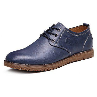 Men Lustrous Soft Classic Oxford ShoesMen's Oxford<br>Men Lustrous Soft Classic Oxford Shoes<br><br>Closure Type: Lace-Up<br>Contents: 1 x Pair of Shoes, 1 x Box<br>Function: Slip Resistant<br>Materials: TPR, Leather<br>Occasion: Tea Party, Shopping, Office, Holiday, Formal, Party, Casual, Daily, Dress<br>Outsole Material: TPR<br>Package Size ( L x W x H ): 25.00 x 6.00 x 5.00 cm / 9.84 x 2.36 x 1.97 inches<br>Package weight: 1.0200 kg<br>Pattern Type: Solid<br>Product weight: 1.0000 kg<br>Seasons: Autumn,Spring<br>Style: Modern, Leisure, Formal, Fashion, Comfortable, Casual, Business<br>Toe Shape: Round Toe<br>Type: Casual Leather Shoes<br>Upper Material: Leather