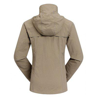 Outdoor Quick Dry Sports Hiking JacketSports Clothing<br>Outdoor Quick Dry Sports Hiking Jacket<br><br>Activity: Camping and Hiking, Climbing, Cycling, Outdoor Lifestyle<br>Gender: Women<br>Package Content: 1 x Jacket<br>Package size: 35.00 x 25.00 x 2.00 cm / 13.78 x 9.84 x 0.79 inches<br>Package weight: 0.3200 kg<br>Product weight: 0.3000 kg<br>Season: Spring, Autumn
