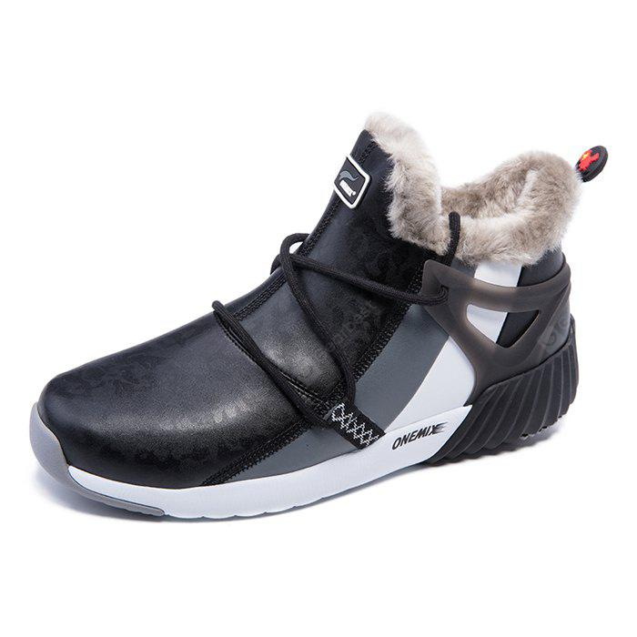 ONEMIX Couple Warmest Wool Sports Ankle-top Boots
