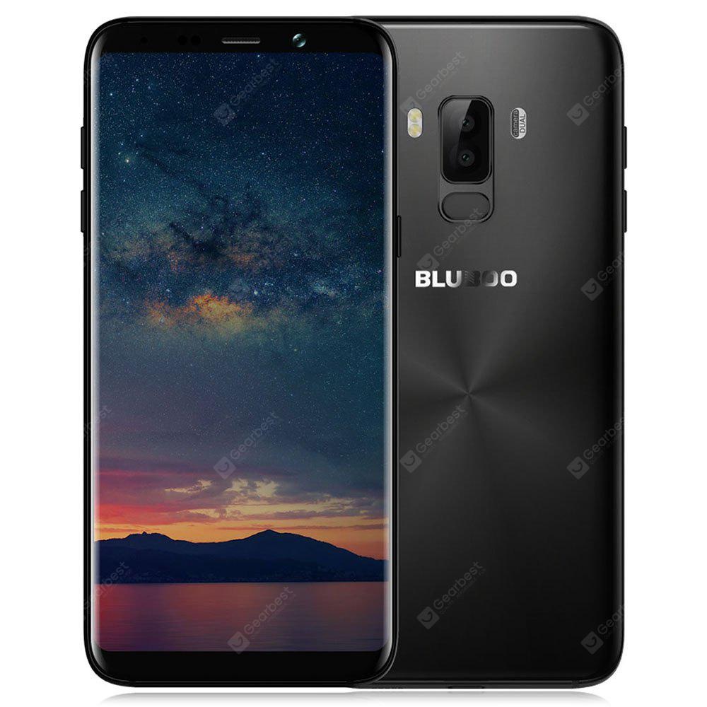 Bluboo S8+ ( Plus ) 4G Phablet - BLACK