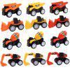 Eco-friendly ABS Engineering Trucks 12PCS - COLORMIX