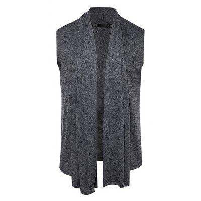 Breathable Solid Color Vest