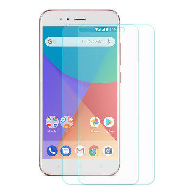 Hat - Prince Anti-dirt Screen Protector - 2pcsScreen Protectors<br>Hat - Prince Anti-dirt Screen Protector - 2pcs<br><br>Brand: Hat-Prince<br>Features: Ultra thin, Shock Proof, Protect Screen, High Transparency, Anti-oil, Anti scratch, Anti fingerprint<br>Mainly Compatible with: Xiaomi<br>Material: Tempered Glass<br>Package Contents: 2 x Tempered Glass, 2 x Dust Absorber, 2 x Cleaning Cloth, 2 x Alcohol Pad<br>Package size (L x W x H): 18.00 x 8.80 x 0.60 cm / 7.09 x 3.46 x 0.24 inches<br>Package weight: 0.0620 kg<br>Product weight: 0.0200 kg<br>Surface Hardness: 9H<br>Thickness: 0.26mm<br>Type: Screen Protector