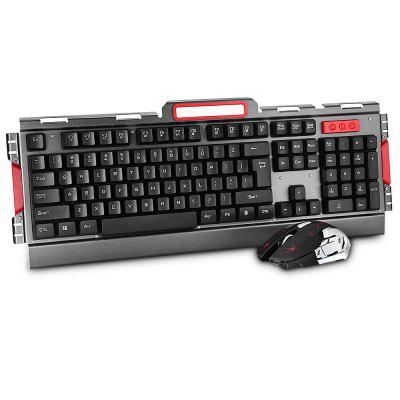 Wireless Keyboard + Mouse for Office Home Game