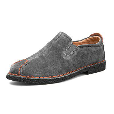 Men British Warmest Stitching Casual Flat and LoaferFlats &amp; Loafers<br>Men British Warmest Stitching Casual Flat and Loafer<br><br>Closure Type: Slip-On<br>Contents: 1 x Pair of Shoes, 1 x Box, 1 x Dustproof Paper<br>Function: Slip Resistant<br>Lining Material: Leather,Velvet<br>Materials: Leather, Rubber, Velvet<br>Occasion: Tea Party, Shopping, Party, Office, Holiday, Casual, Daily<br>Outsole Material: Rubber<br>Package Size ( L x W x H ): 33.00 x 24.00 x 13.00 cm / 12.99 x 9.45 x 5.12 inches<br>Package weight: 0.8000 kg<br>Pattern Type: Solid<br>Product weight: 0.6000 kg<br>Seasons: Autumn,Spring,Winter<br>Style: Modern, Leisure, Fashion, Comfortable, Casual<br>Toe Shape: Round Toe<br>Type: Flat Shoes<br>Upper Material: Leather