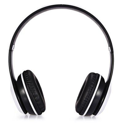 P47 Foldable Bluetooth Wireless HeadsetBluetooth Headphones<br>P47 Foldable Bluetooth Wireless Headset<br><br>Application: Running, Sport, Gaming<br>Battery Type: Built-in<br>Battery Types: 200mAh Li-ion Battery<br>Bluetooth: Yes<br>Bluetooth chip: CSR<br>Bluetooth distance: W/O obstacles 10m<br>Bluetooth mode: Headset<br>Bluetooth Version: V4.2<br>Charging Time.: 2h<br>Compatible with: Computer, Mobile phone<br>Connecting interface: USB, Micro USB<br>Connectivity: Wired and Wireless<br>Driver unit: 40mm<br>External Memory: TF card<br>Features: Portable<br>FM frequency range: 87.5 - 108MHz<br>FM radio: Yes<br>Frequency response: 50~20000Hz<br>Function: Voice control, Waterproof, Song Switching, FM function, Bluetooth, Answering Phone, Sweatproof, Microphone, Voice Prompt, Noise Cancelling<br>Impedance: 32ohms<br>Language: Chinese,English<br>Material: Metal, PC<br>Max. of External memory: 32GB<br>Model: P47<br>Music Time: 6h<br>Package Contents: 1 x Bluetooth Headset, 1 x 3.5mm Audio Cable, 1 x USB Charging Cable, 1 x English User Manual<br>Package size (L x W x H): 7.20 x 10.80 x 17.20 cm / 2.83 x 4.25 x 6.77 inches<br>Package weight: 0.2170 kg<br>Product size (L x W x H): 6.50 x 17.00 x 18.00 cm / 2.56 x 6.69 x 7.09 inches<br>Product weight: 0.1290 kg<br>SNR: 88dB<br>Standby time: 18h<br>Talk time: 6h<br>Type: Over-ear<br>Wearing type: Headband<br>WIFI: No