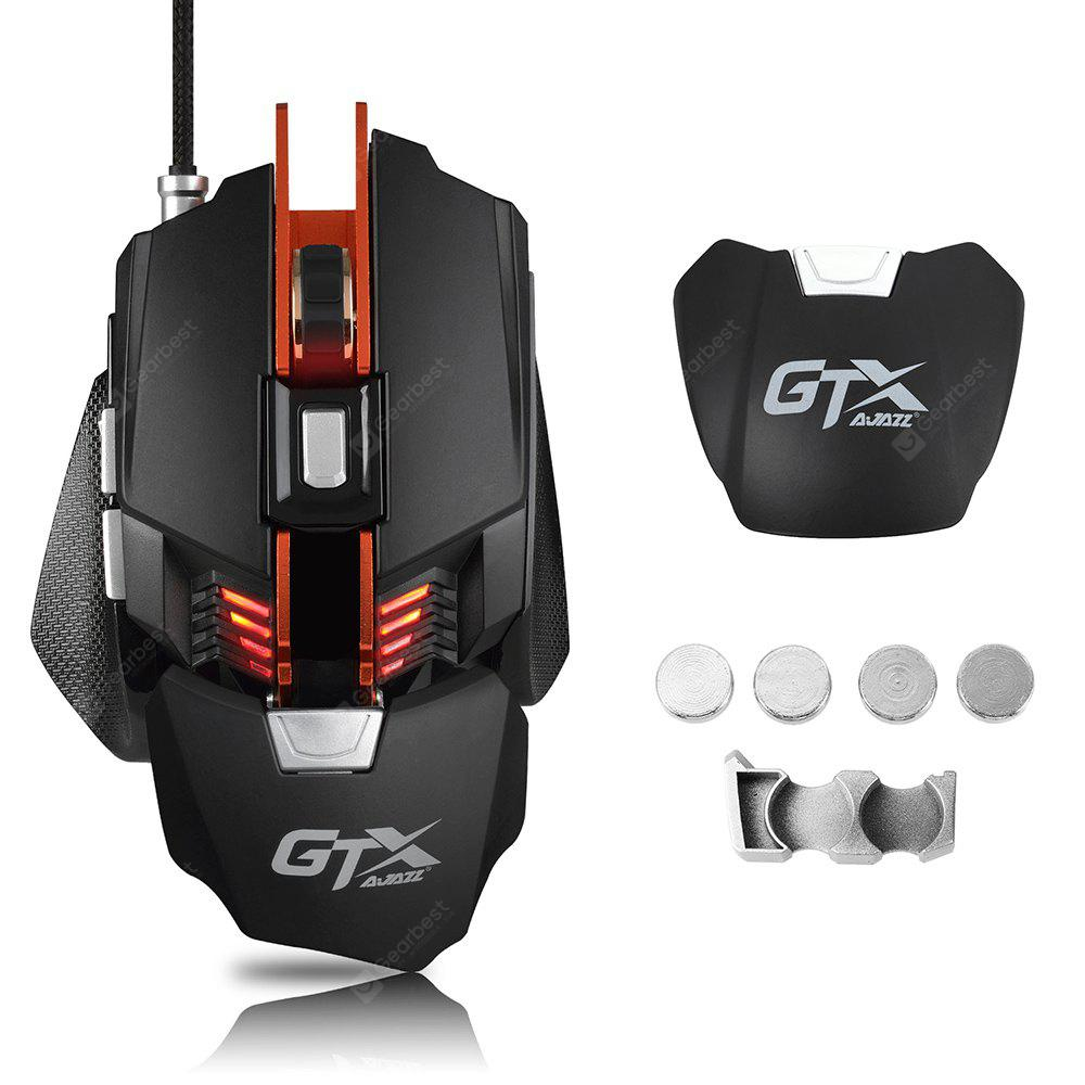 Ajazz GTX LOL Metal Gaming Mouse Colorful Breathing Light