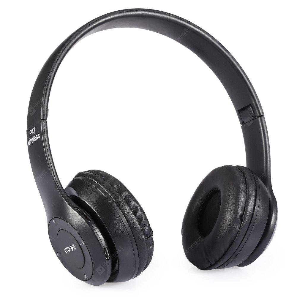 P47 Foldable Bluetooth Wireless Headset