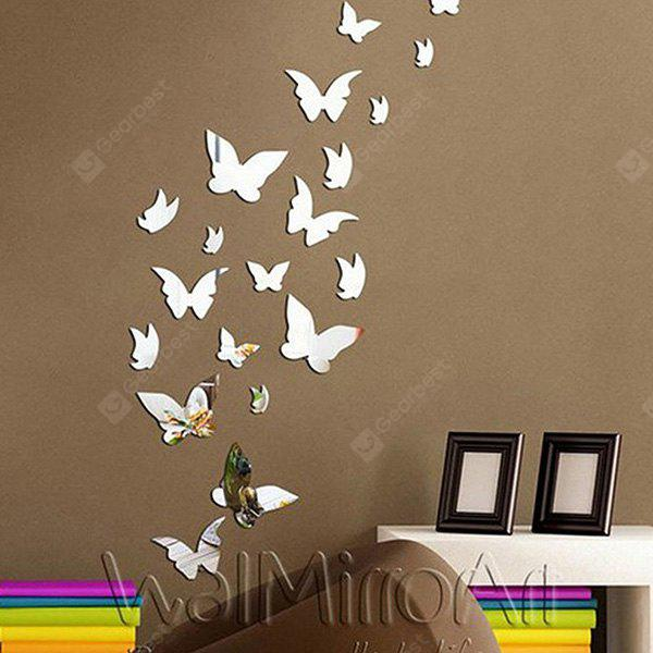 SILVER, Home & Garden, Home Decors, Wall Art, Wall Stickers