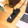 Alfawise S2 Power Strip USB Charger - BLACK