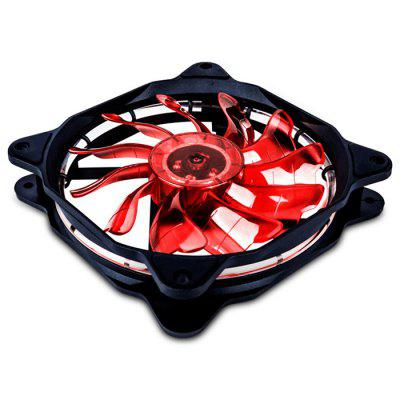 1STPLAYER Fire Ring 1200RPM 120mm Silent Cooling Case Fan